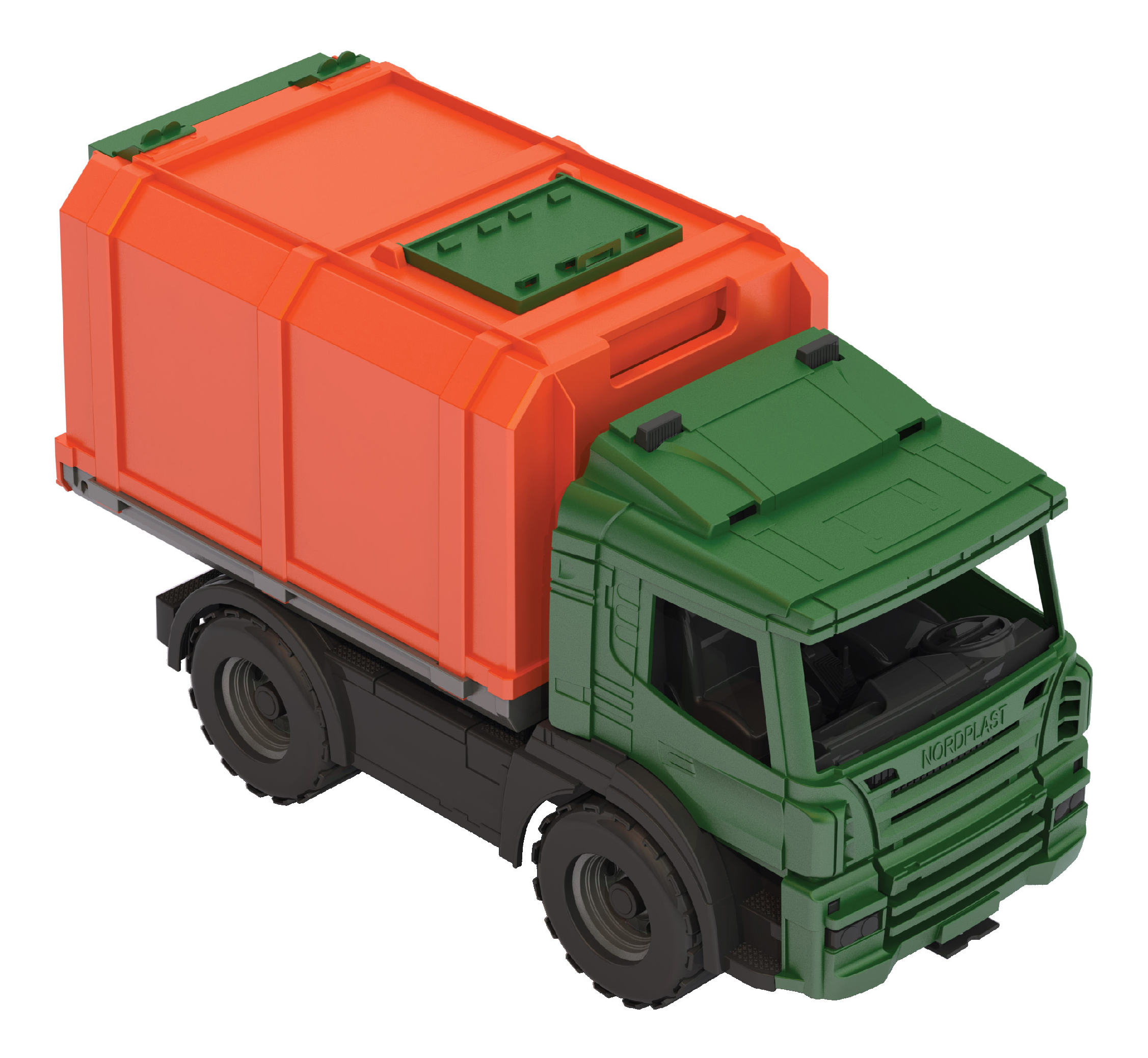 Купить Игрушка НОРДПЛАСТ Фургон из серии Спецтехника,