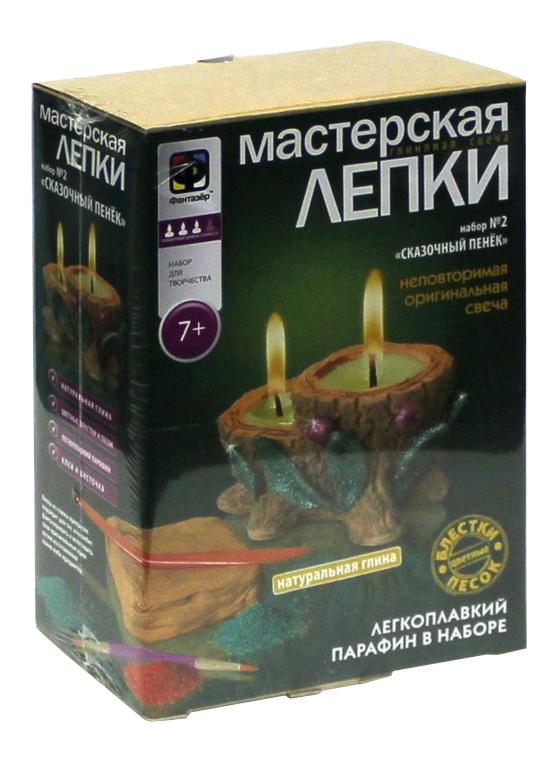 Глиняная свеча Фантазер