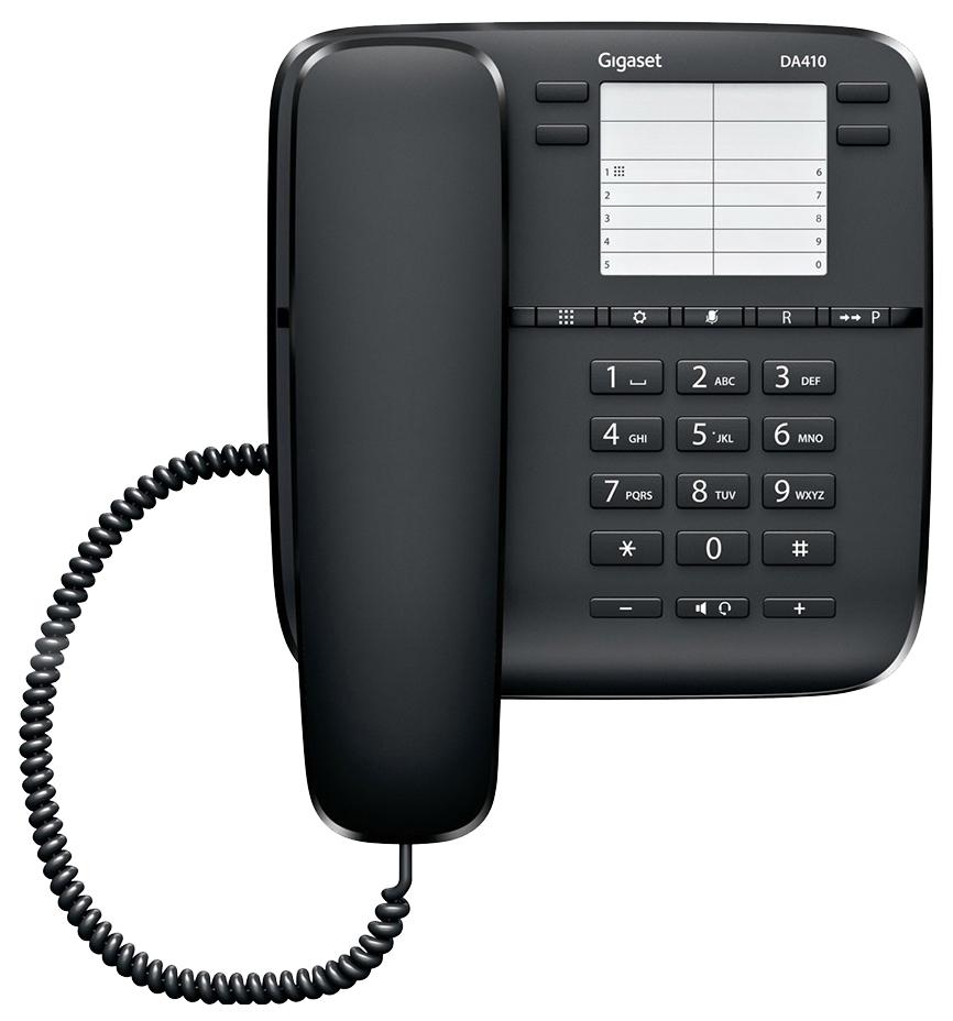 Проводной телефон Gigaset DA410 черный