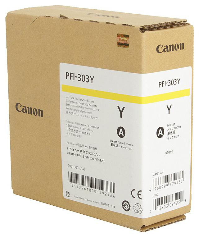 CANON PFI-303 Y