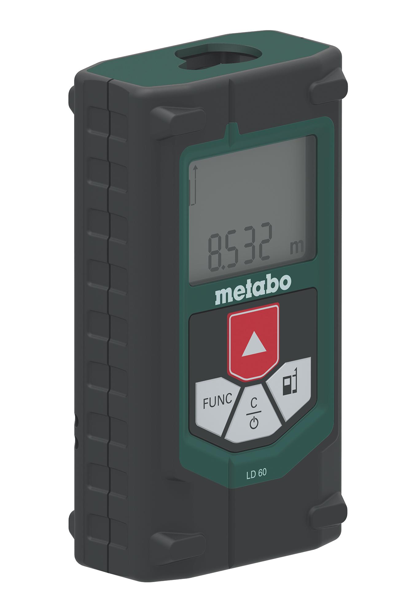 Дальномер лазерный Metabo LD 60 зеленый (606163000)