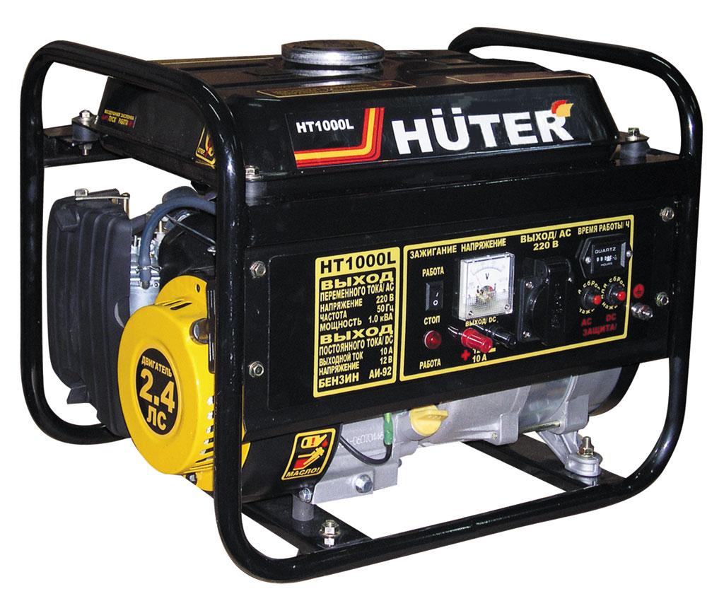 Бензиновый генератор HUTER HT1000L