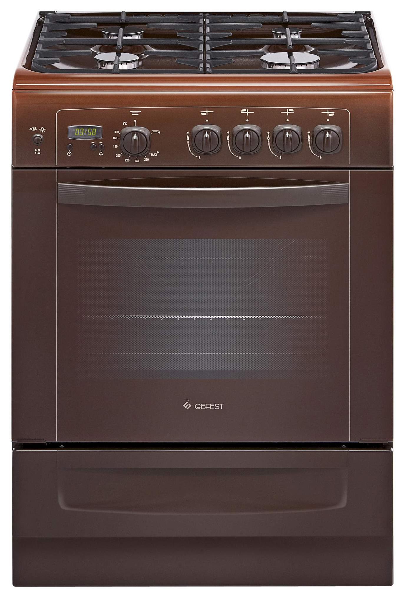 Газовая плита GEFEST ПГ 6100-03 0003 Brown