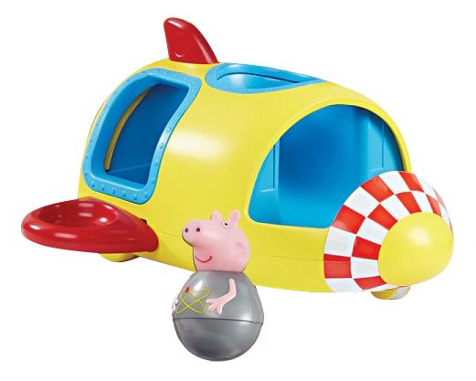 Набор Росмэн Ракета Свинки Пеппы-неваляшки Peppa Pig фото