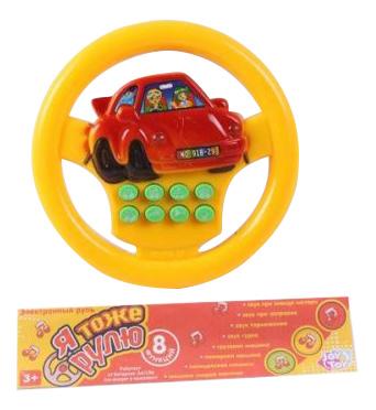 картинка Музыкальная игрушка Shantou Электронный руль от магазина Bebikam.ru