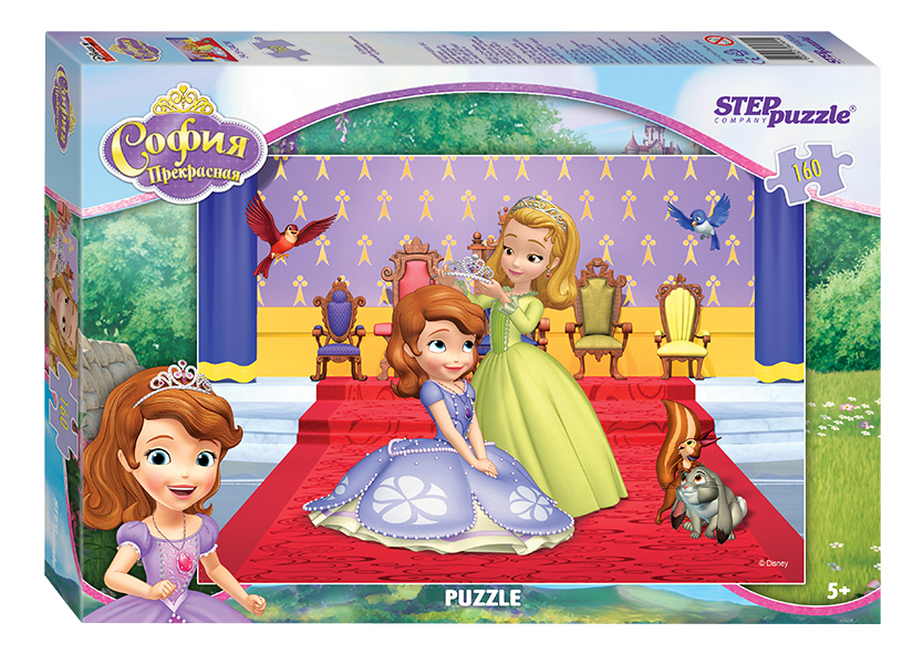 Купить Принцесса София, Пазл STEP Puzzle Принцесса София, Пазлы