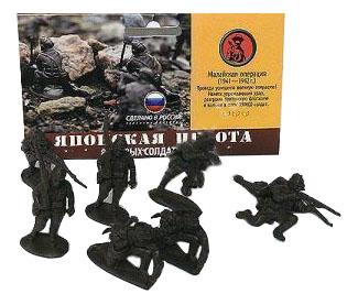 Игровой набор Солдатики Биплант 12018 Японская Пехота Боп