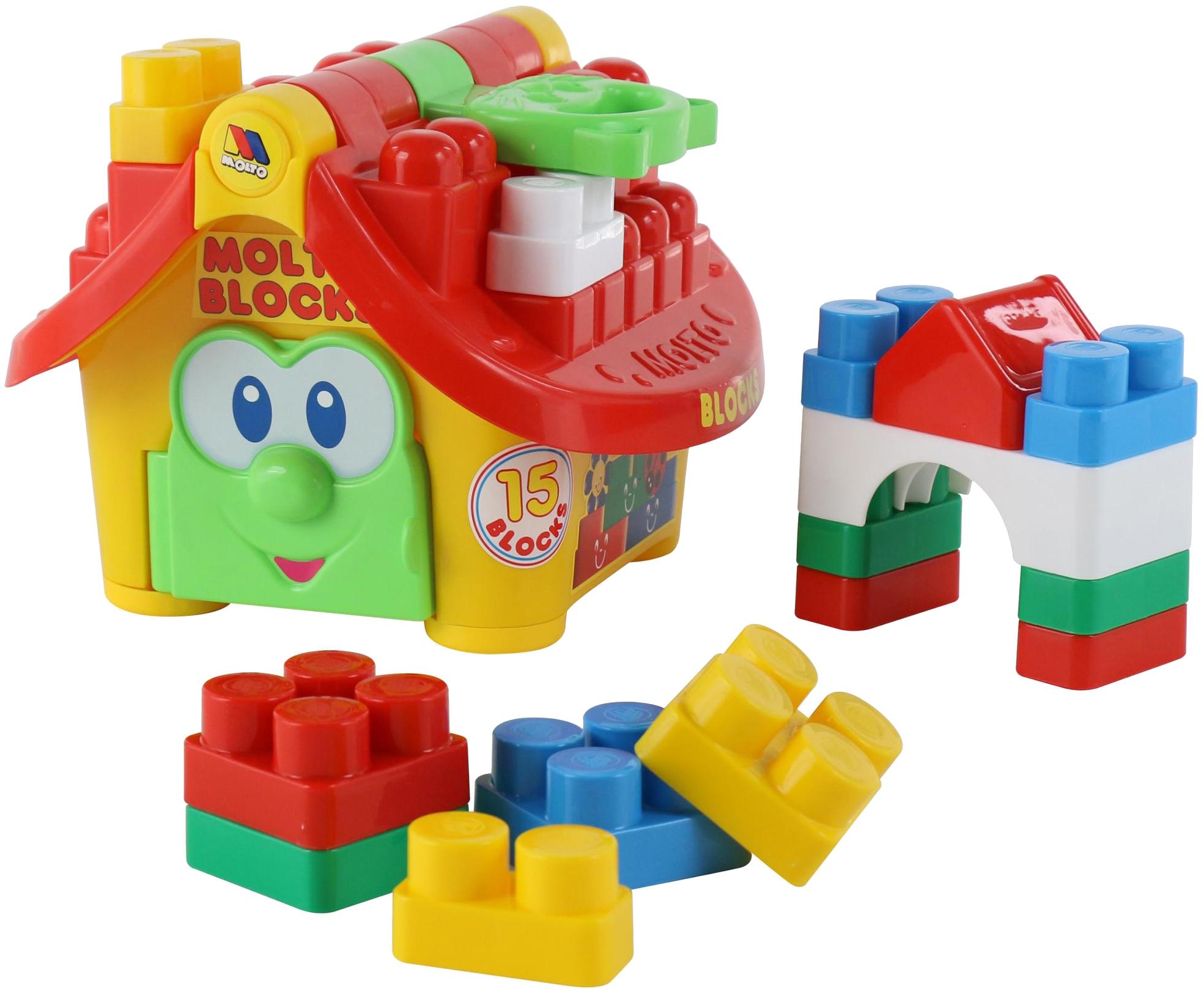 Игровой набор Полесье Логический домик Маленький строитель П-9646