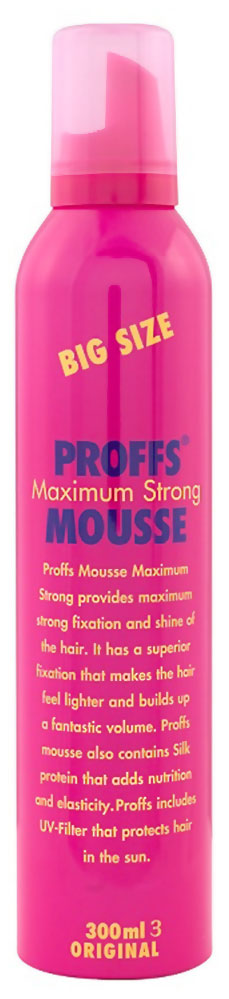 Мусс для волос Proffs Maximum Strong Mousse