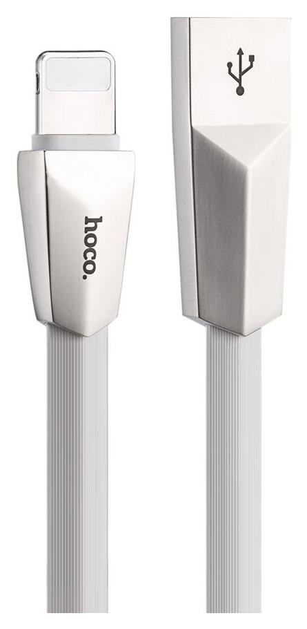 Кабель Hoco x4 Lightning 1,2м White