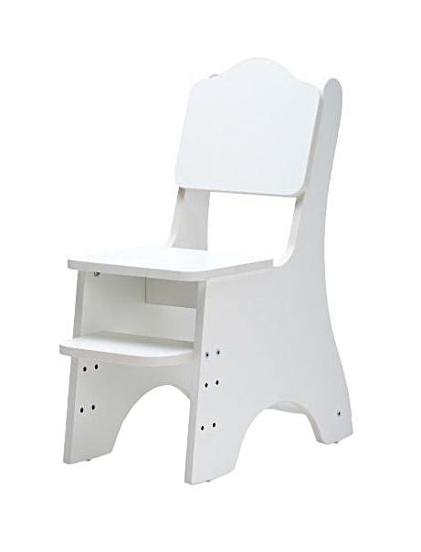 Купить Детский стул Baby Step Классика, с регулируемой подножкой, Детские стульчики