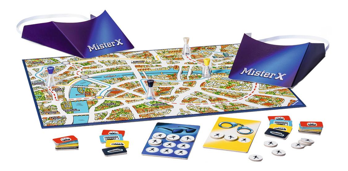 Купить Семейная настольная игра Ravensburger Скотланд ярд Джуниор, Семейные настольные игры