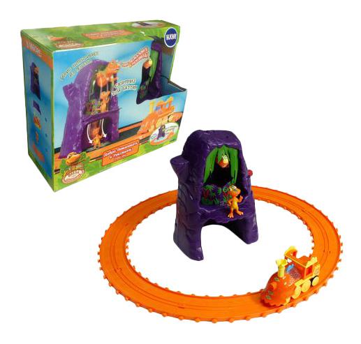Купить Игровой набор Tomy поезд Динозавров, Детские железные дороги