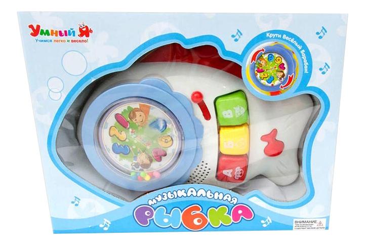 Развивающая игрушка Zhorya Музыкальная Рыбка фото