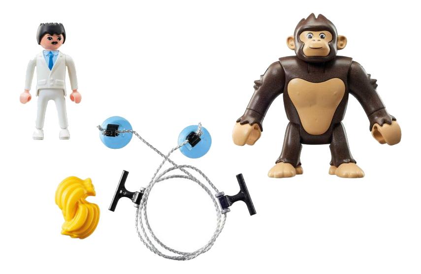Игровой набор Playmobil PLAYMOBIL Гигантский обезьяний гонг фото