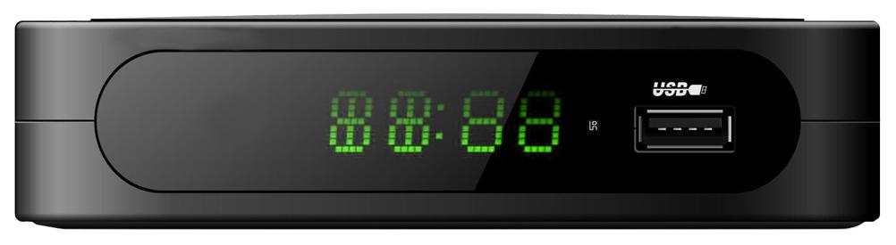 DVB-T2 приставка Telefunken TF-DVBT213 Black  - купить со скидкой