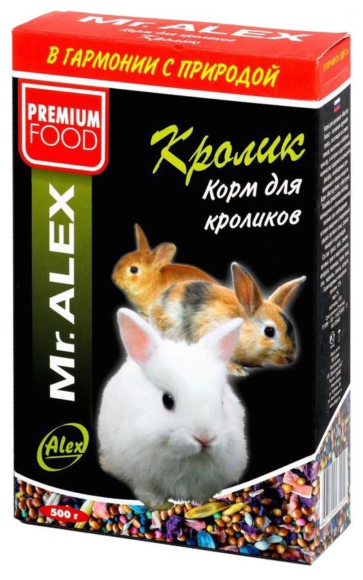 Корм для кроликов Mr.Alex Кролик 0.5