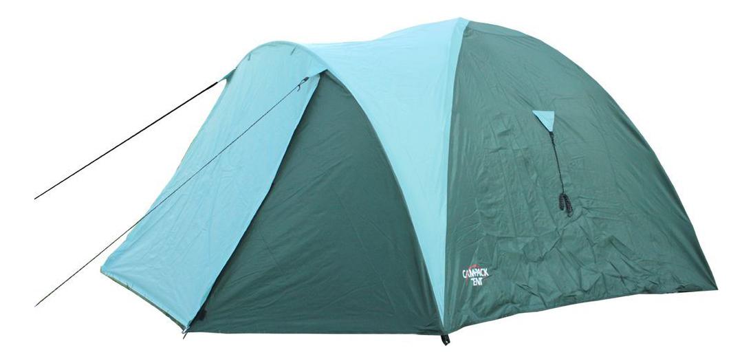 Палатка Campack-Tent Mount Traveler четырехместная голубая