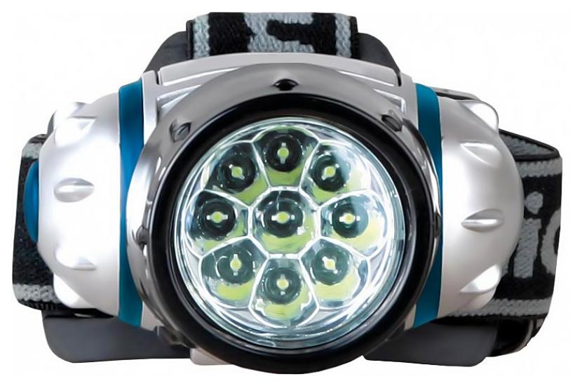 Туристический фонарь Camelion 5317-9MX серебристый, 4 режима