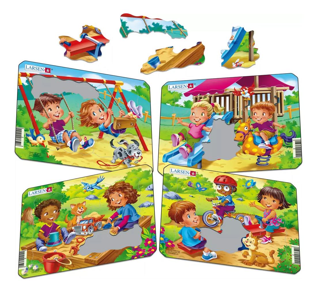 Купить Пазл Larsen Детская игровая площадка, Пазлы