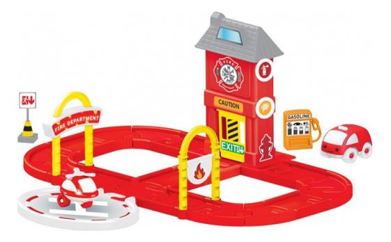 Купить Игровой набор Dolu Пожарная станция, Игровые наборы
