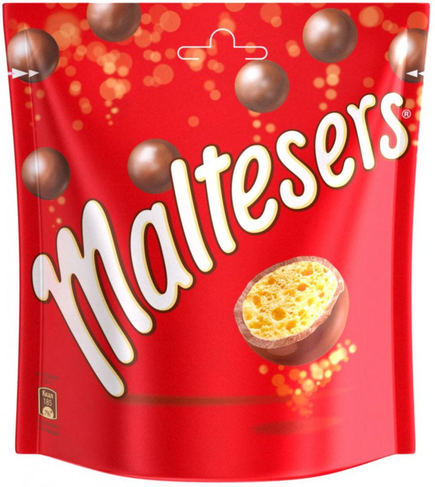 Драже Maltesers покрытые молочным шоколадом 175 г