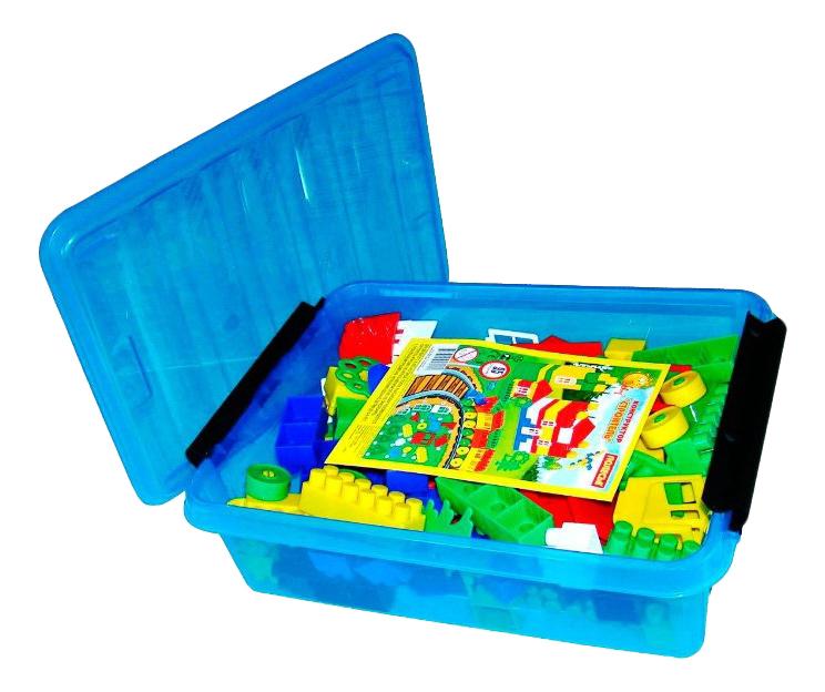 Купить Конструктор пластиковый Полесье 95 элементов, Конструкторы пластмассовые