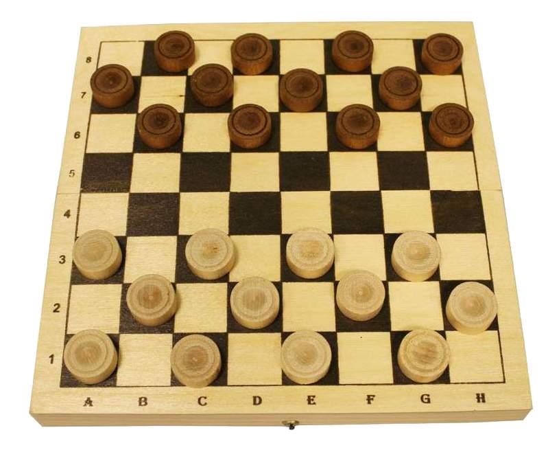 Шахматы настольная игра шашки Шахматы Шашки деревянные с доской D-2 фото