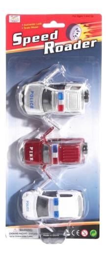 Набор машинок speed roader 3 шт А55668, Набор машинок Speed Roader 3 шт. Gratwest А55668, Наборы игрушечного транспорта  - купить со скидкой