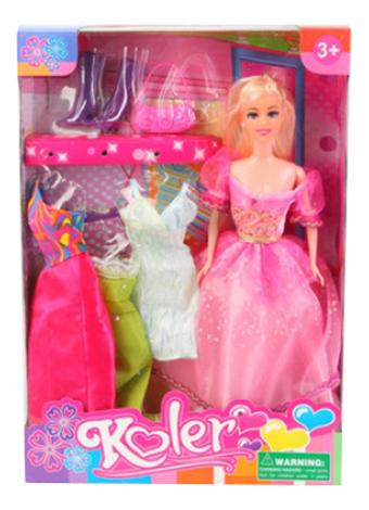 Кукла с набором одежды Koler 29 см Shenzhen Toys Д44294