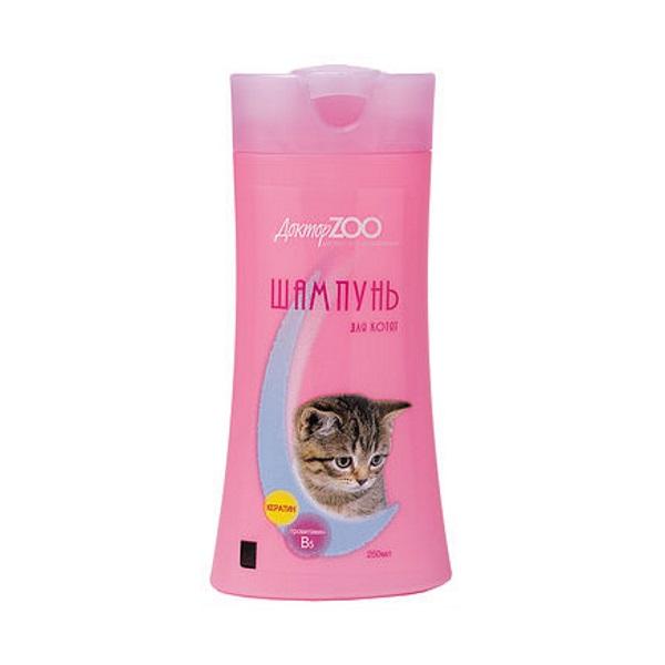 Шампунь бальзам для котят Доктор ZOO универсальный,