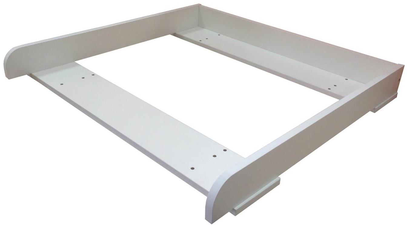 Рамка для пеленания Polini для комода Malm массив Белый