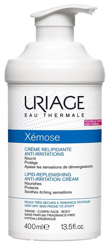 Купить Крем для тела Uriage Xemose Липидовосстанавливающий 400 мл