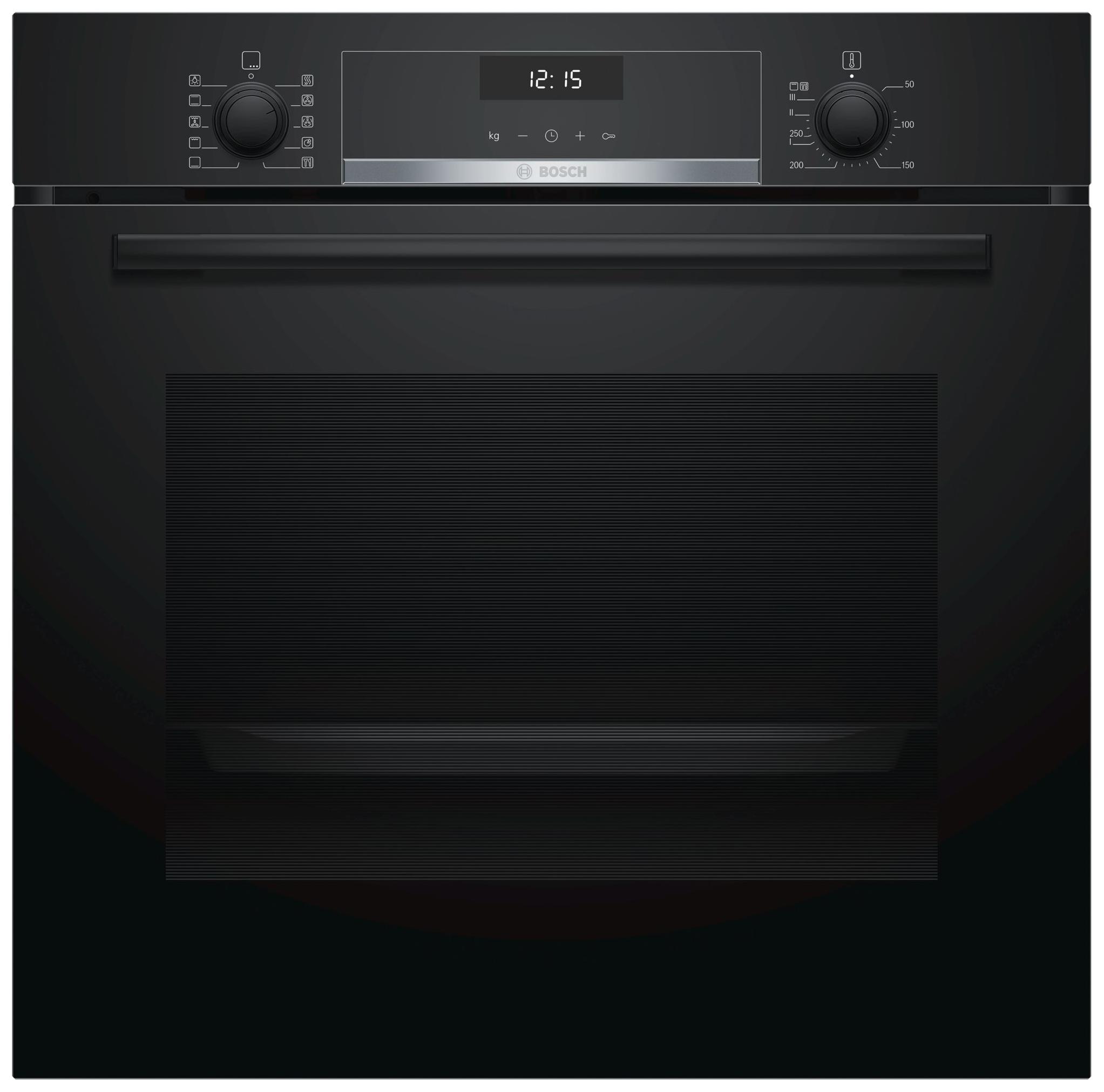 Встраиваемый электрический духовой шкаф Bosch HBG537NB0R Black