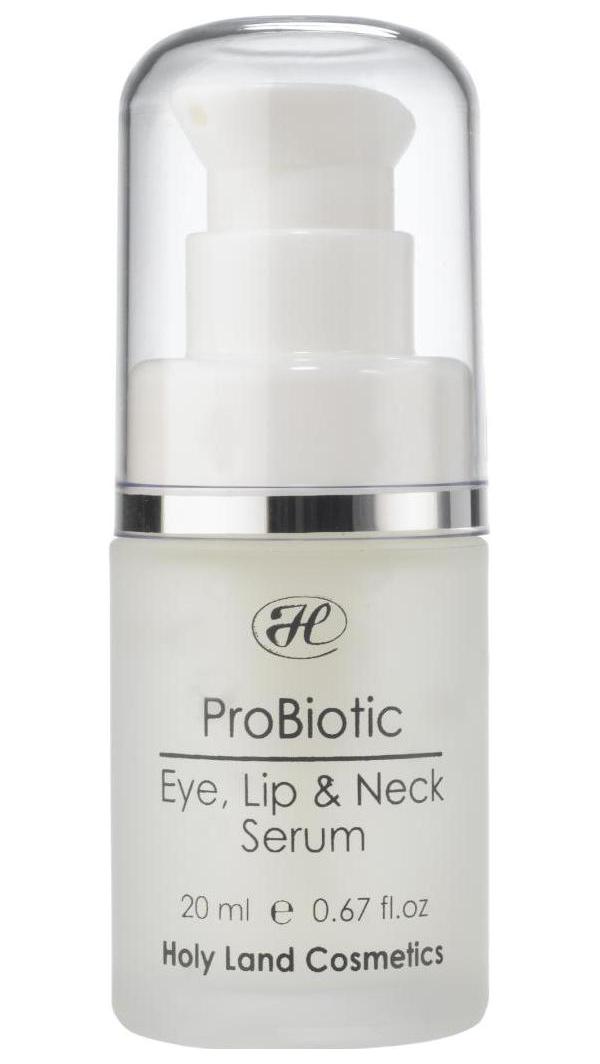 Сыворотка для лица Holy Land Probiotic Eye, Lip #and# Neck , 15мл