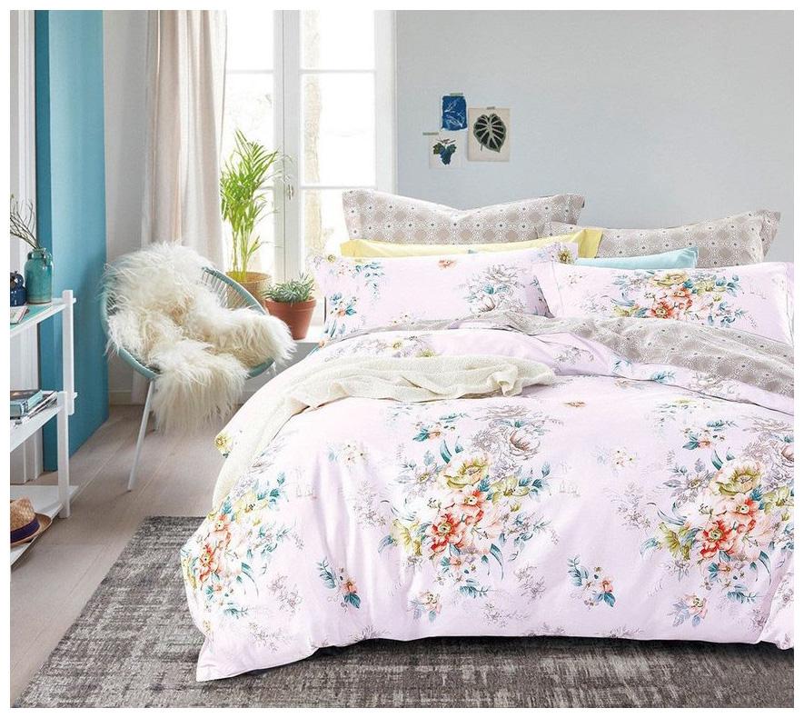 Комплект постельного белья Cleo satin reactive sr двуспальный фото