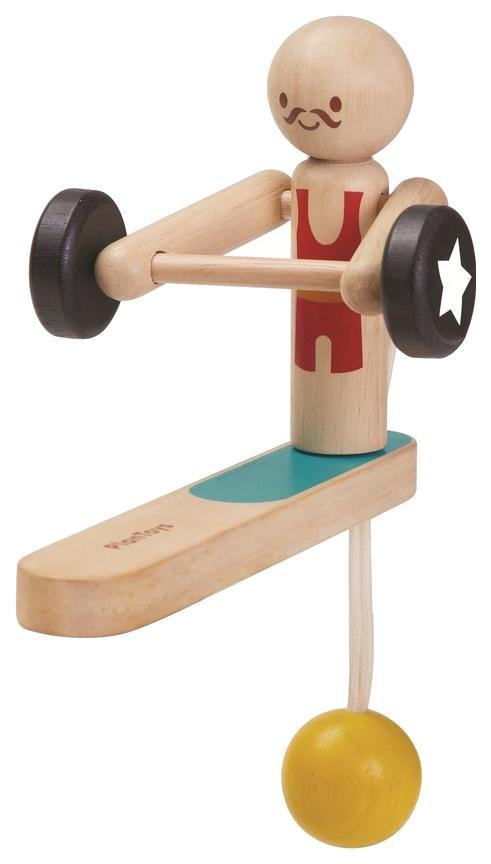 Купить Деревянная игрушка Plan Toys Акробат тяжеловес 5366, PlanToys, Развивающие игрушки