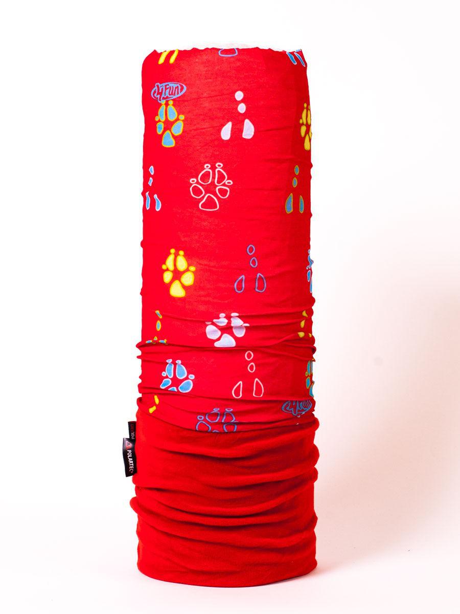Бандана 4FUN Shusta Polartec красный One Size