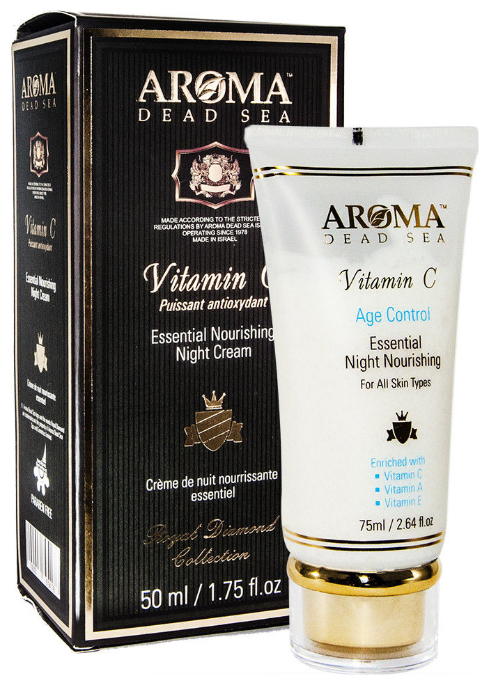 Крем для лица Aroma Dead Sea Essential Nourishing Vitamin C Night Cream 50 мл
