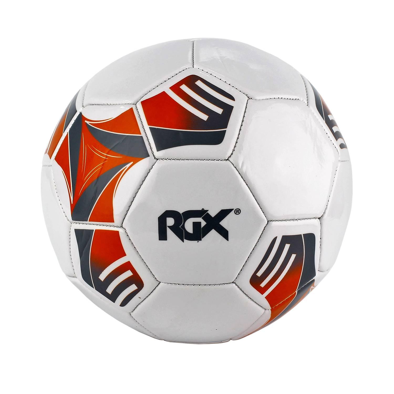 Футбольный мяч Rgx RGX-FB-1708 №5 orange/gray фото