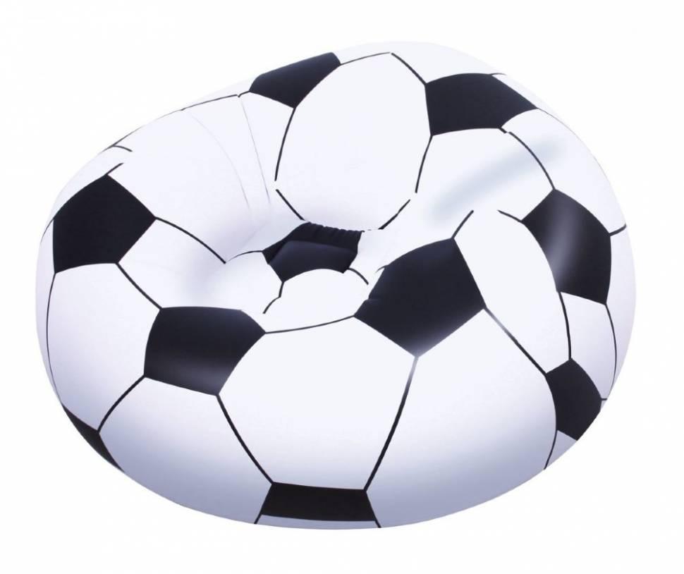 Надувное кресло футбольный мяч Bestway 114х112х66 см 75010