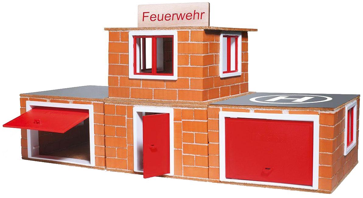 TEIFOC Конструктор TEIFOC Пожарное депо 220 элементов TEI 4800