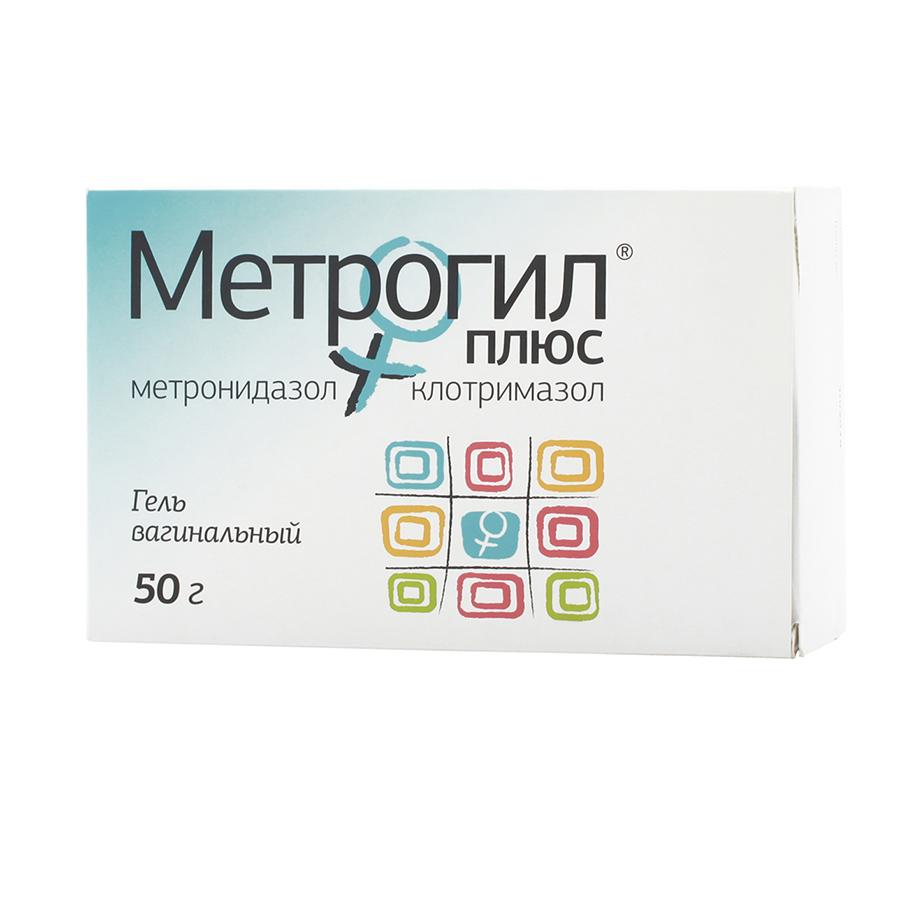Метрогил Плюс гель ваг.50 г+аппликатор 10 шт.