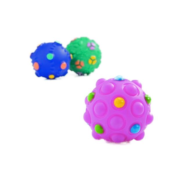 Жевательная игрушка для собак Beeztees Мячик с пупырышками (винил) 5см.