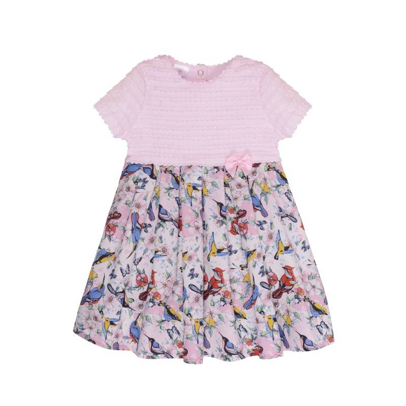 Купить Платье Мамуляндия, цв. розовый, 98 р-р, Детские платья и сарафаны