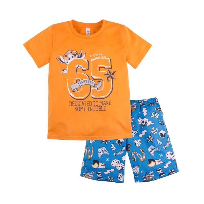 Купить Пижама Тату Bossa Nova, цв. оранжевый, 116 р-р, Детские пижамы