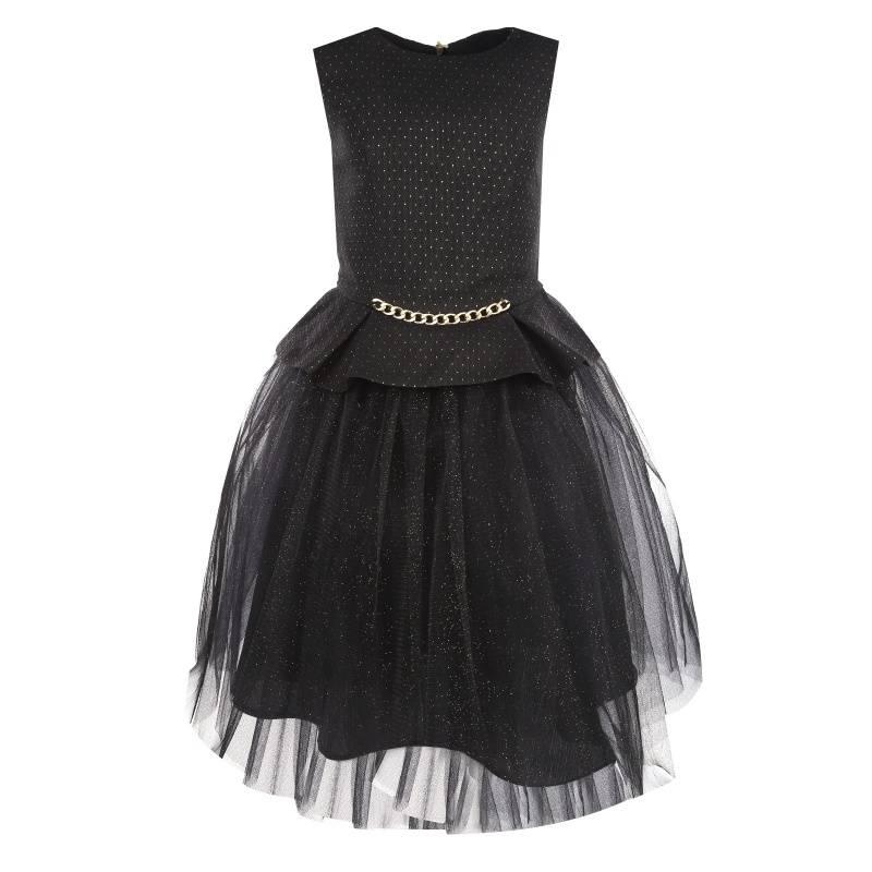 Купить 893, Комплект 2 предмета UNONA D'ART, цв. черный, 152 р-р, Детские костюмы