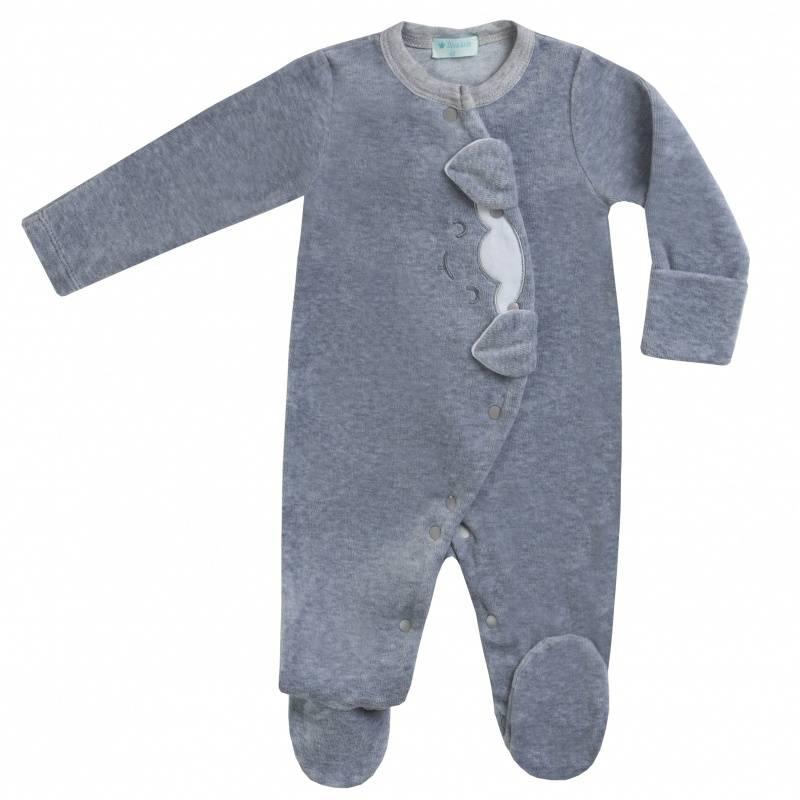 Купить DK-040, Комбинезон Diva Kids, цв. серый, 80 р-р, Трикотажные комбинезоны для новорожденных