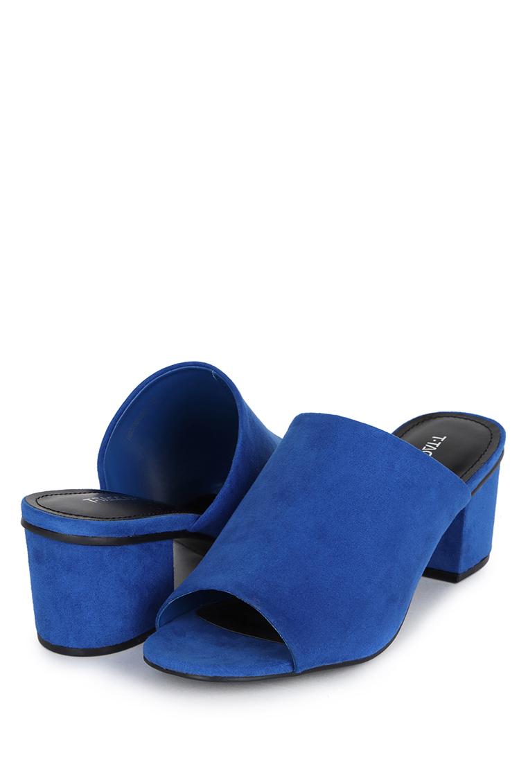 Сабо женские T.Taccardi 17333CK синие 36 RU