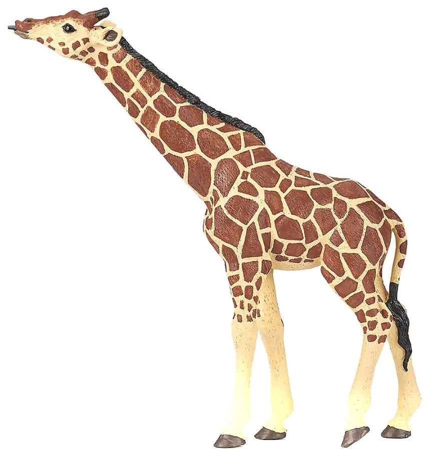 Купить Игровая фигурка Жираф с поднятой головой , PAPO, Игровые фигурки